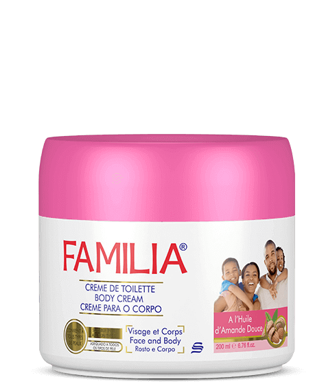 FAMILIA Moisturizing cream with sweet almond oil - SIVOP
