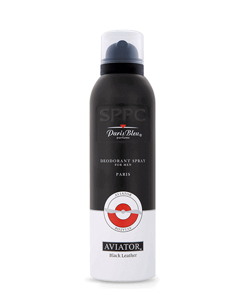 AVIATOR BLACK LEATHER Deodorant - SIVOP