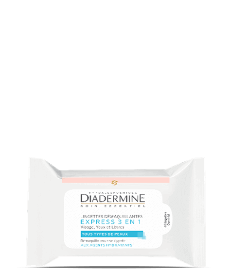 DIADERMINE express 3 en 1 Cleansing wipe - SIVOP