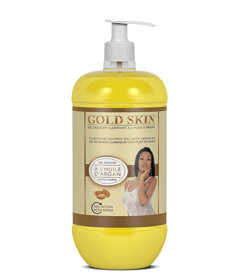 GOLD SKIN Shower gel with argan oil - SIVOP