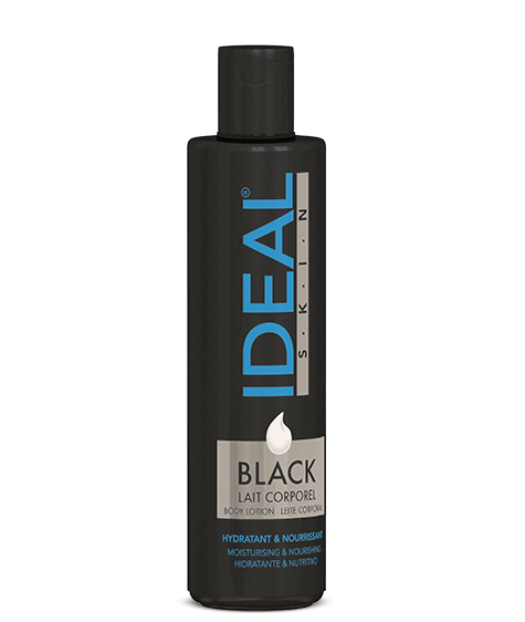 Black IDEAL SKIN Moisturizing Body Lotion - SIVOP