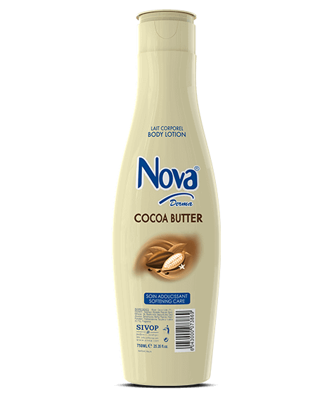 NOVA Derma Moisturizing Body Lotion with cocoa butter - SIVOP