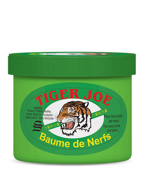 Green TIGER JOE Nerve Balm - SIVOP