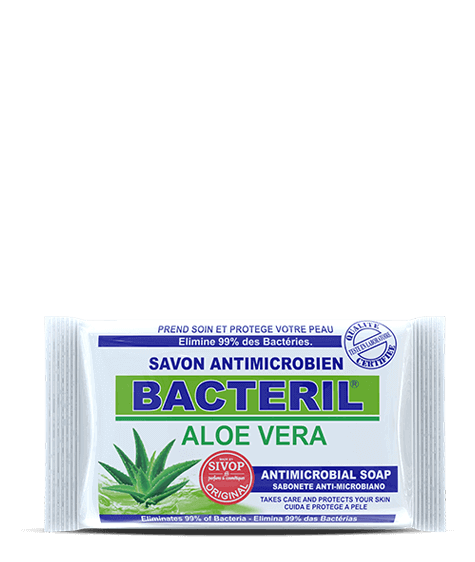 BACTERIL Antimicrobial soap with aloe vera - SIVOP