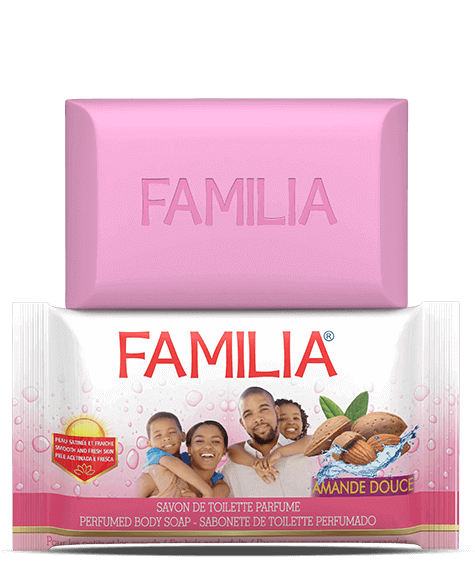 FAMILIA Toilet soap with sweet almond - SIVOP