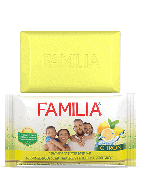 FAMILIA Lemon Toilet Soap - SIVOP