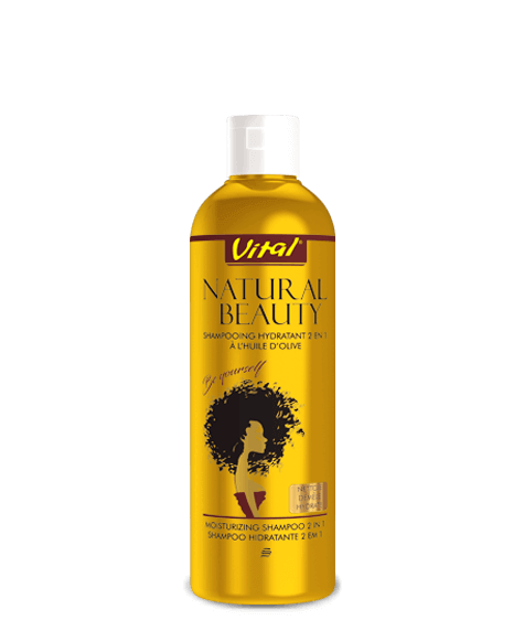 NATURAL BEAUTY Shampoo with olive oil - SIVOP