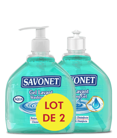 SAVONET Aqua duo washing gel - SIVOP