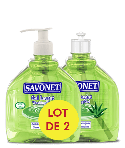SAVONET Duo Washing gel with aloe vera - SIVOP