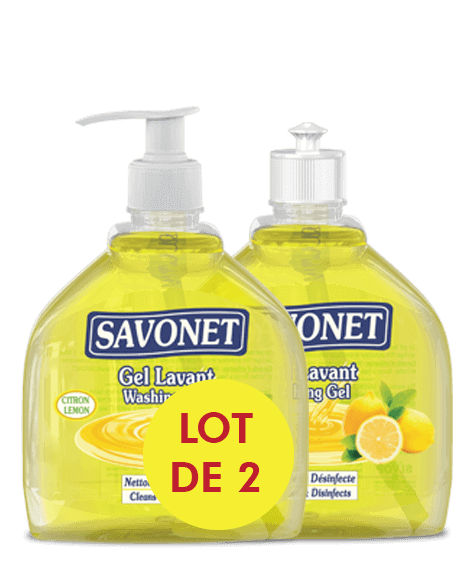 SAVONET Duo Washing gel with lemon - SIVOP