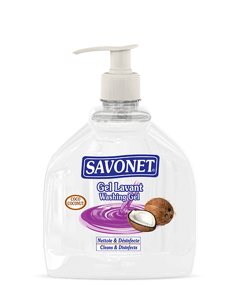 SAVONET Coconut washing gel - SIVOP