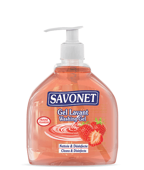 SAVONET Strawberry Washing gel - SIVOP