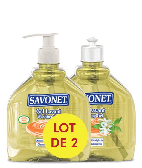 SAVONET Duo Washing gel with orange blossom - SIVOP
