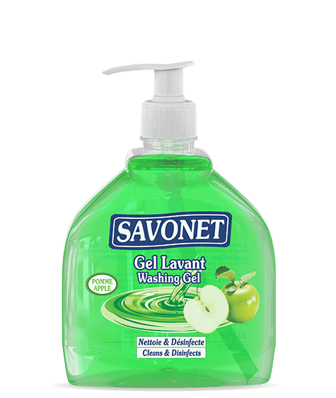 SAVONET Apple washing Gel - SIVOP